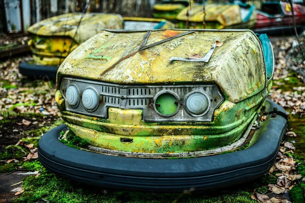 Pripyat Amusement Park, Chernobyl Exclusion Zone, Ukraine