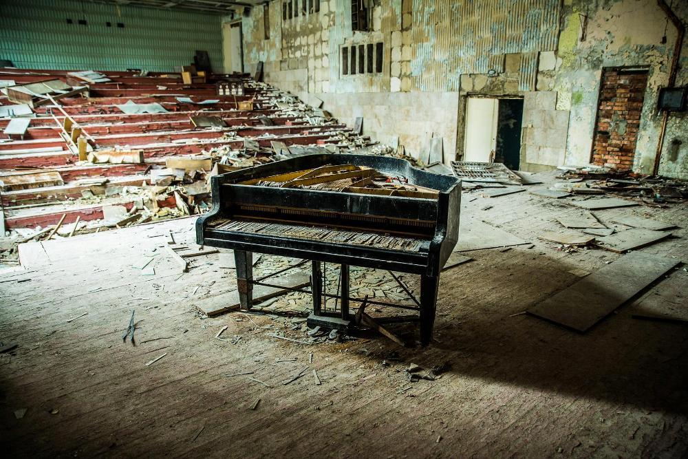 Pripyat Conservatory, Chernobyl Exclusion Zone, Ukraine