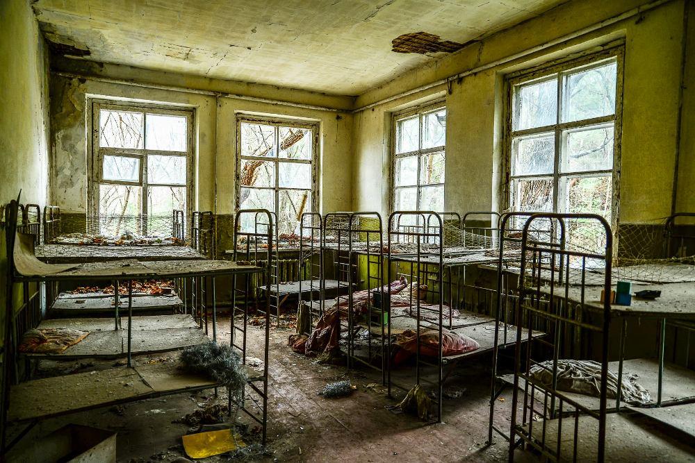 Kopachi Kindergarten, Chernobyl Exclusion Zone, Ukraine