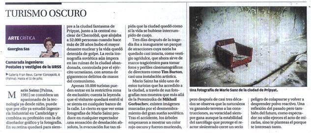 Diario de Mallorca, 07/07/2014